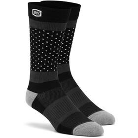 100% Opposition Socks Black